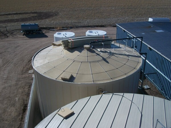Ground Storage Tanks Cheyenne Wy Ridglok 174 Vertical