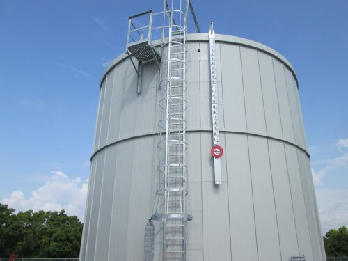 Saturn automotive plant fire protection tank insulation